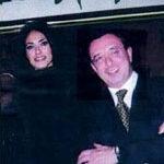 Angelo Sollazzo con attrice Maria Grazia Cucinotta ad un incontro CIM