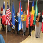 Bandiere Paesi rappresentati Congresso CIM