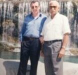 Sollazzo con Comandante Almeida, Vice-Presidente di Cuba