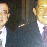 Sollazzo con il Presidente venezuelano Chavez