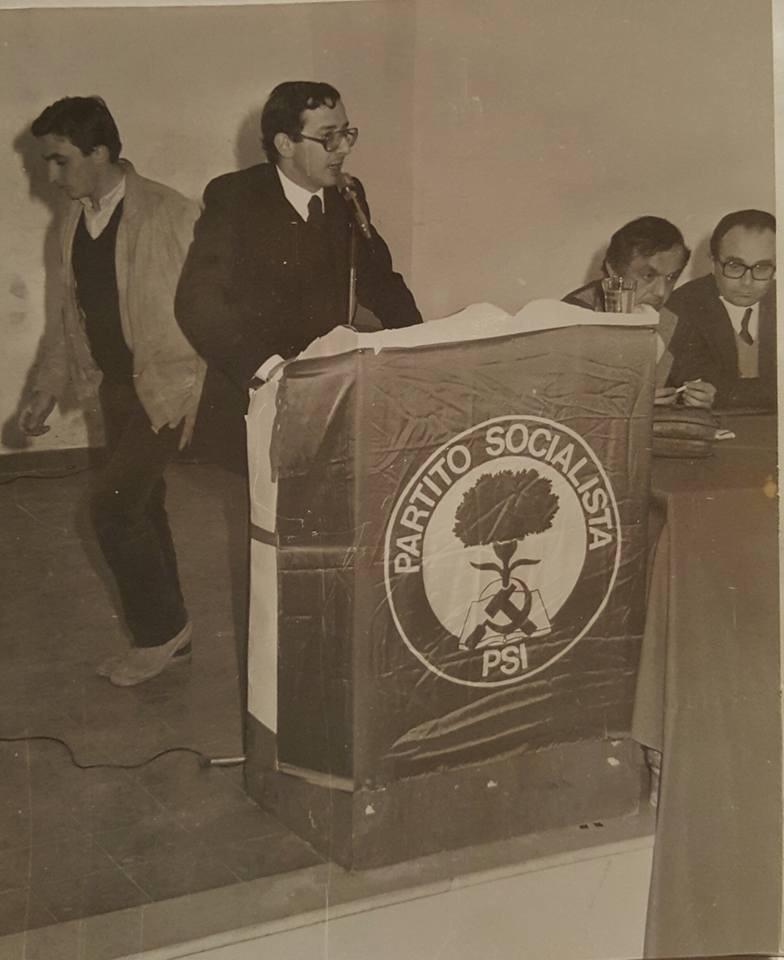 Sollazzo candidato alle Regionali 1980