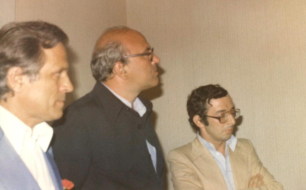 Sollazzo con Craxi 1976