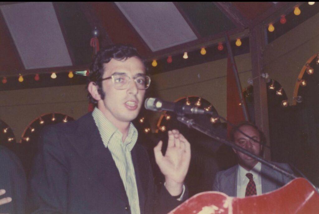 Sollazzo al Primo Festival dell'Avanti, Fossalto 1970