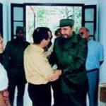Incontro tra On. Sollazzo ed il Comandante Fidel Castro, Presidente della Repubblica di Cuba