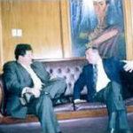 On. Sollazzo con Presidente dell Ecuador